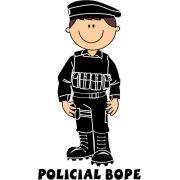 Decalque para Porcelana - Policial(o) Bope