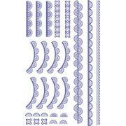 Decalque para Porcelana - Rendas 1