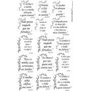 Salmos 6cm com Arabesco