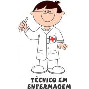 Decalque para Porcelana - Técnico de Enfermagem