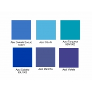 Tintas para Porcelana - Azuis