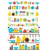 Decalque para Porcelana -Utensílios Cozinha
