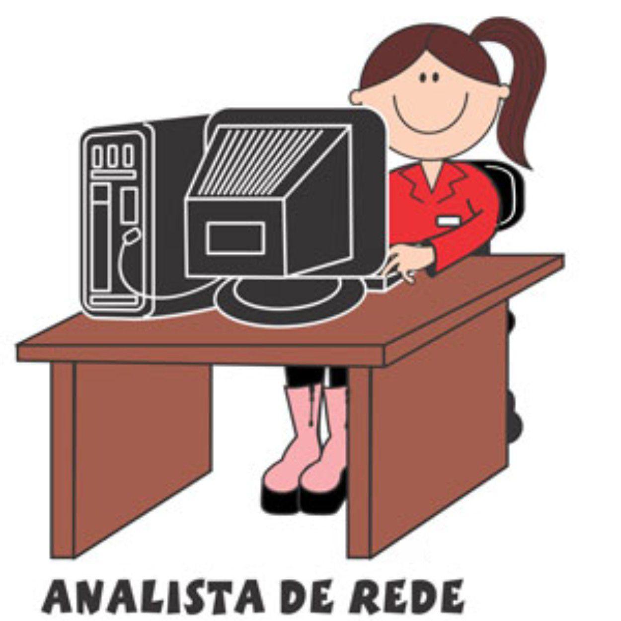 Decalque para Porcelana - Analista de Rede(a)