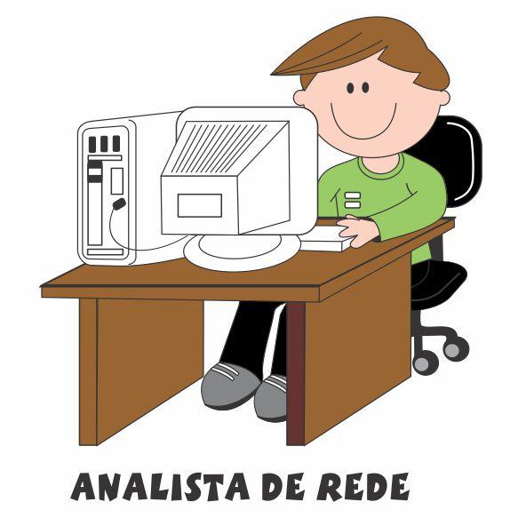 Decalque para Porcelana - Analista de Rede(o)