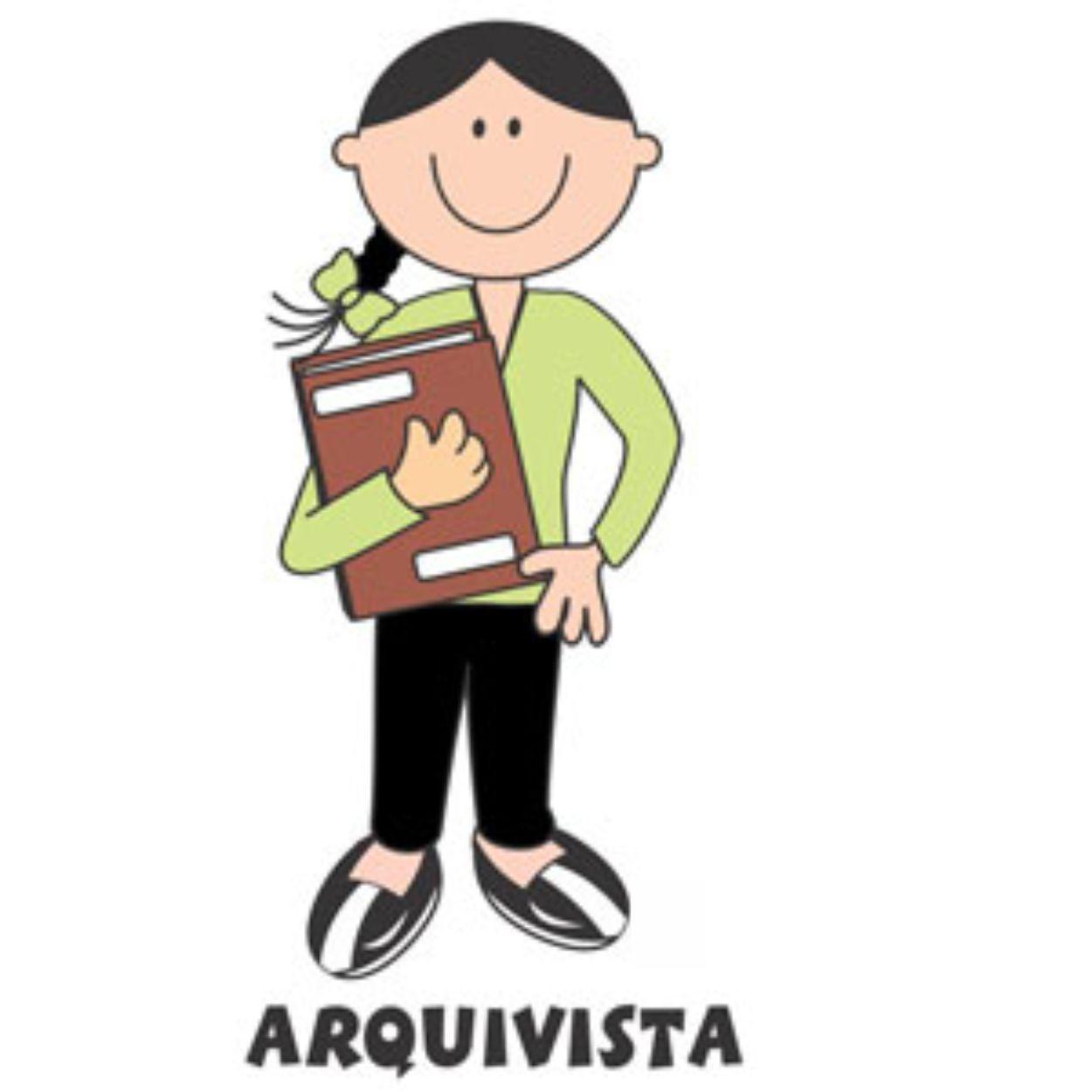 Decalque para Porcelana - Arquivista(a)