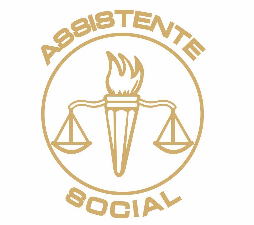 Decalque para Porcelana - Assistente Social