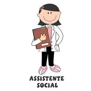 Decalque para Porcelana - Assistente Social (a)