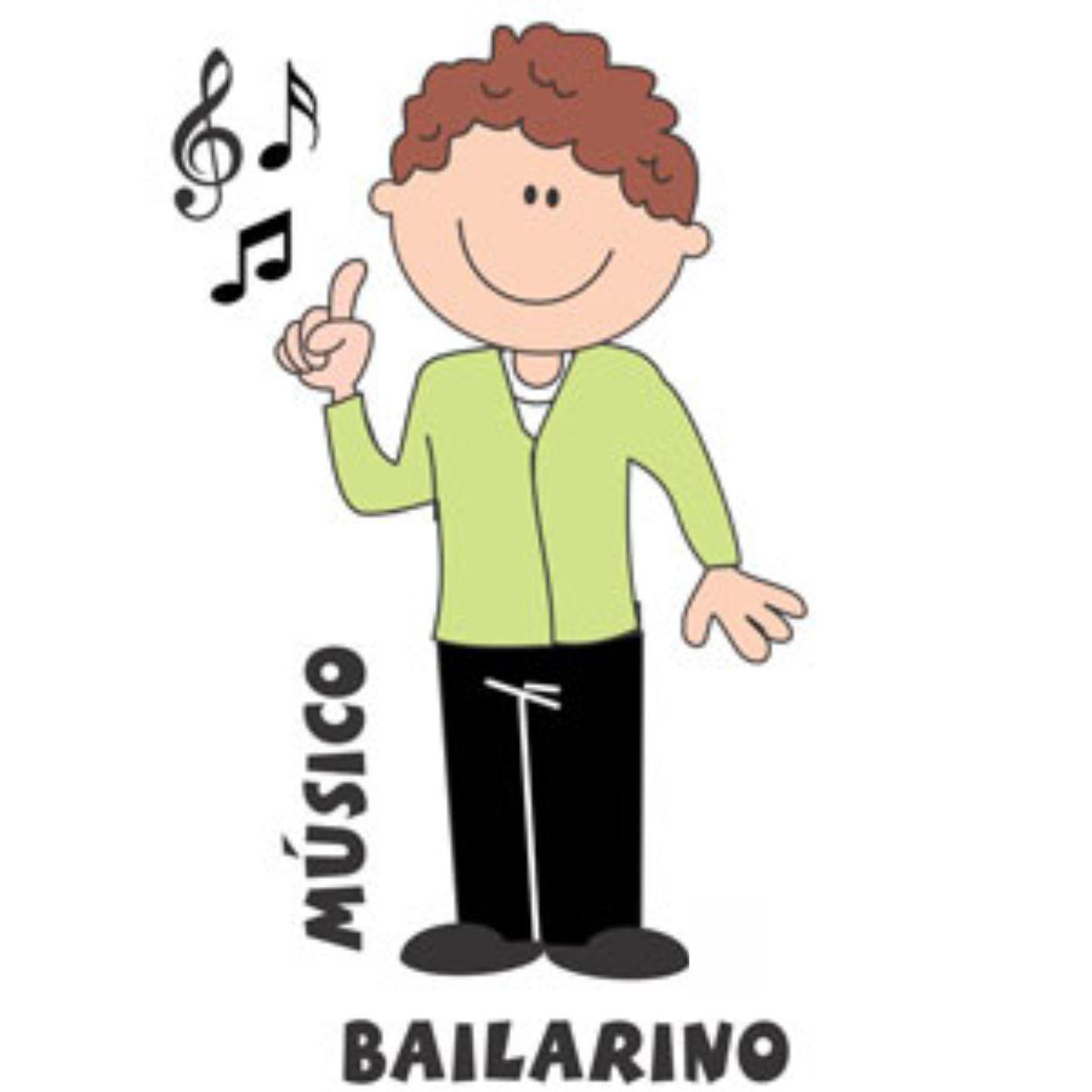 Decalque para Porcelana - Bailarino/Músico
