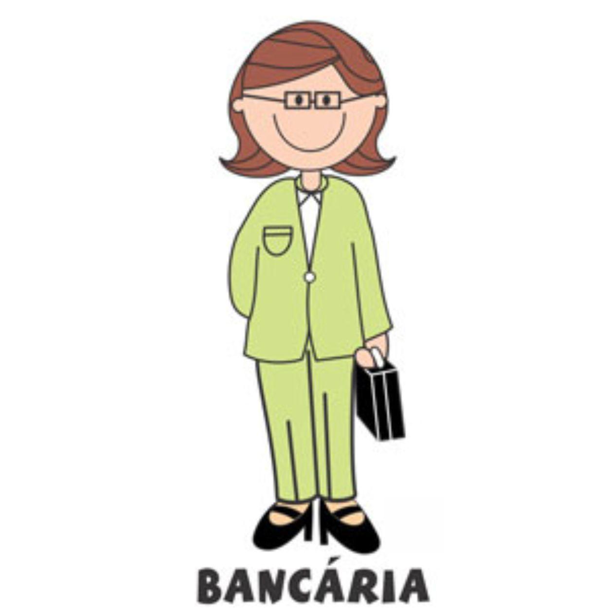Decalque para Porcelana - Bancária
