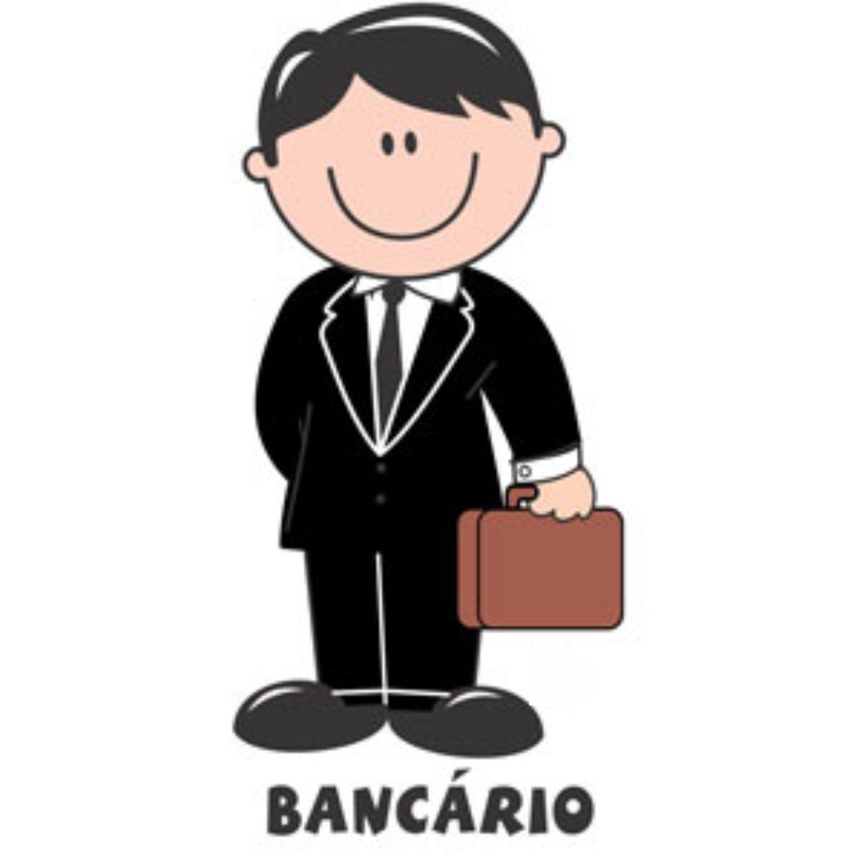 Decalque para Porcelana - Bancário