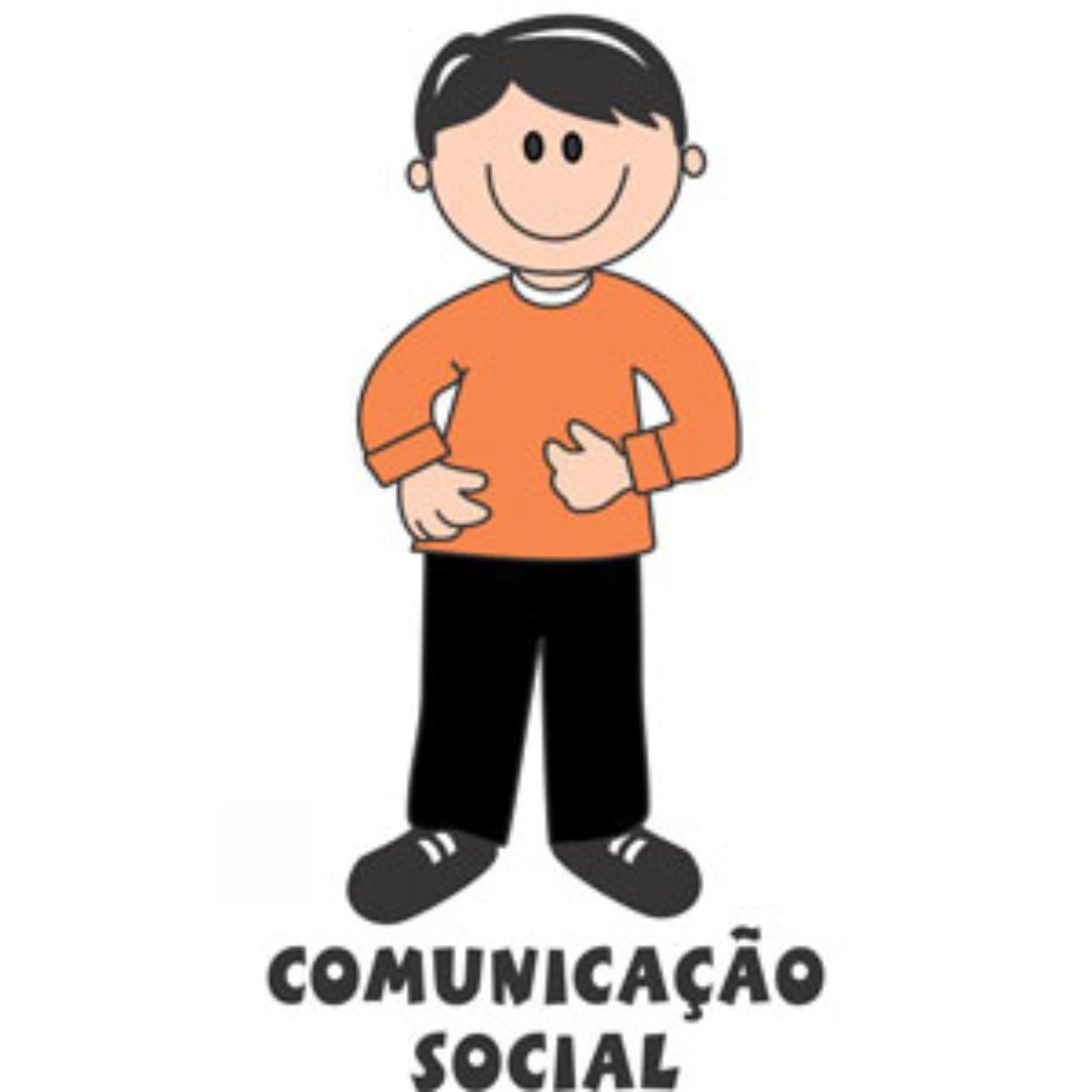 Decalque para Porcelana - Comunicação Social(o)