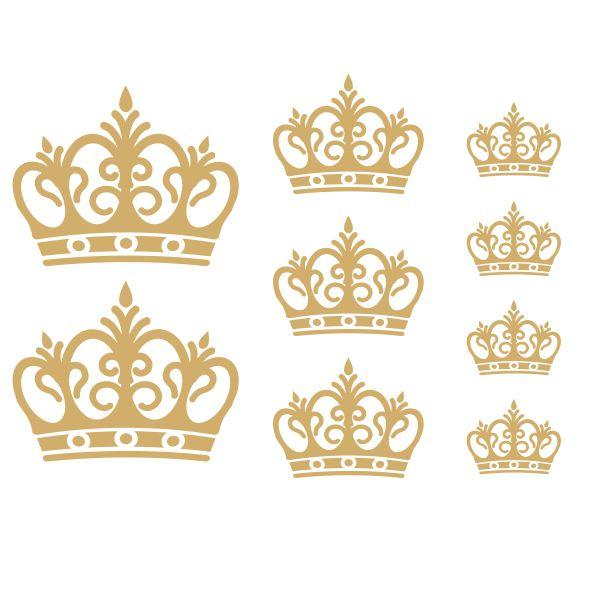 Decalque para Porcelana -Coroa