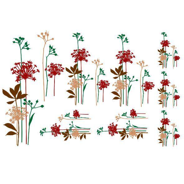 Decalque para Porcelana - Decore - Florescente
