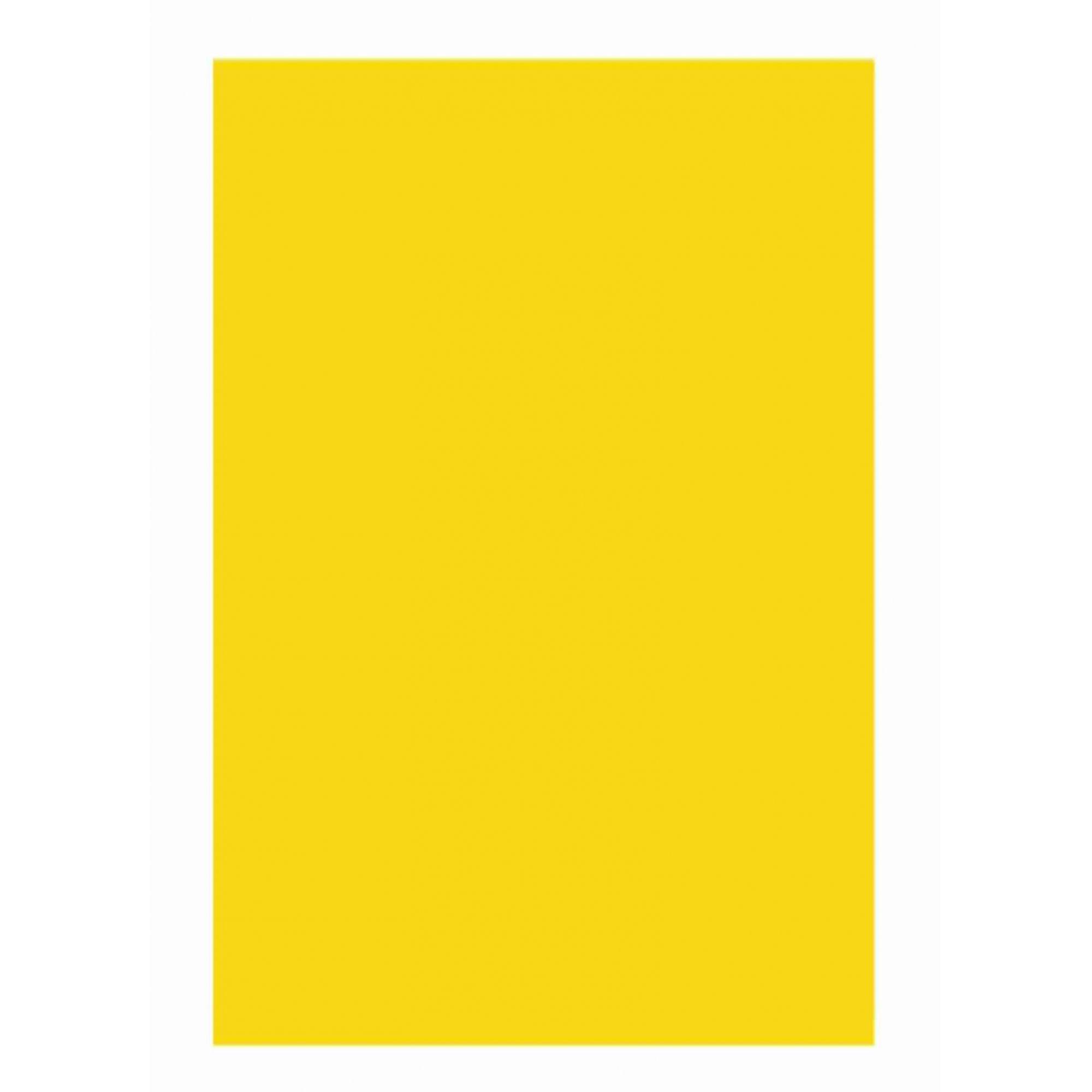 Folha Colorida Amarelo Cádmio 11307 - Vidro