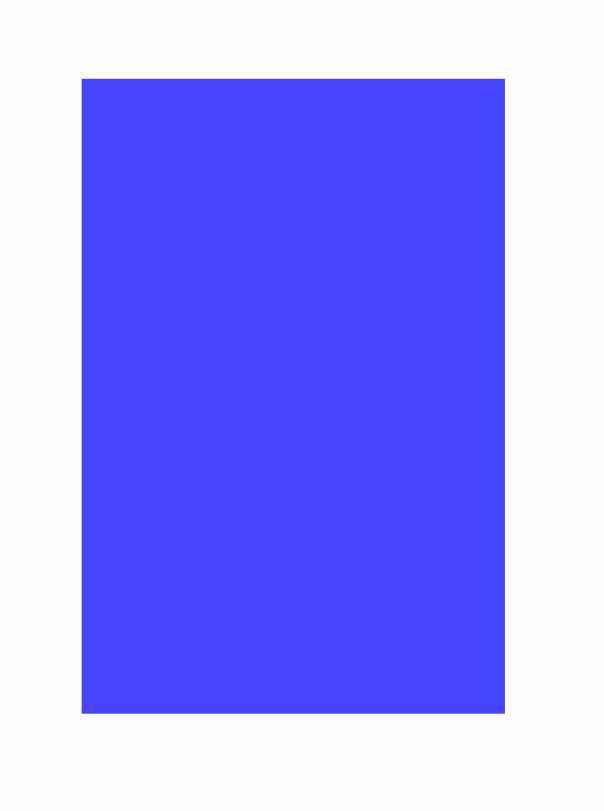 Folha Colorida - Azul EV401 - Vidro