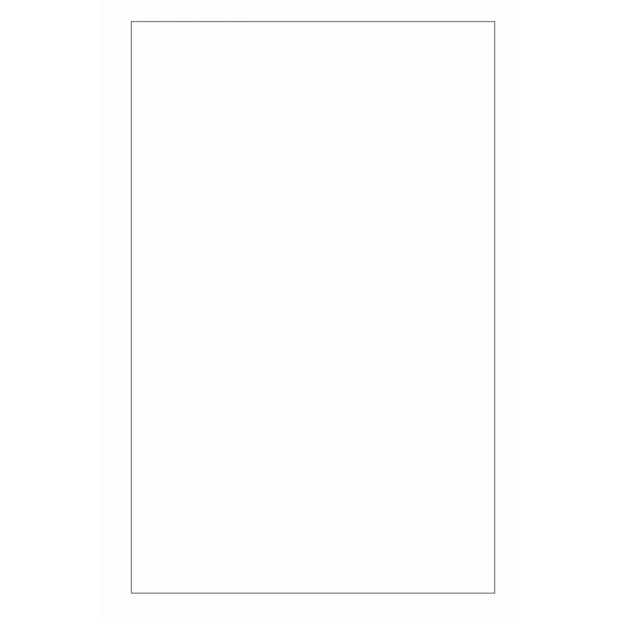 Folha Colorida - Branco GFV06556 - Vidro