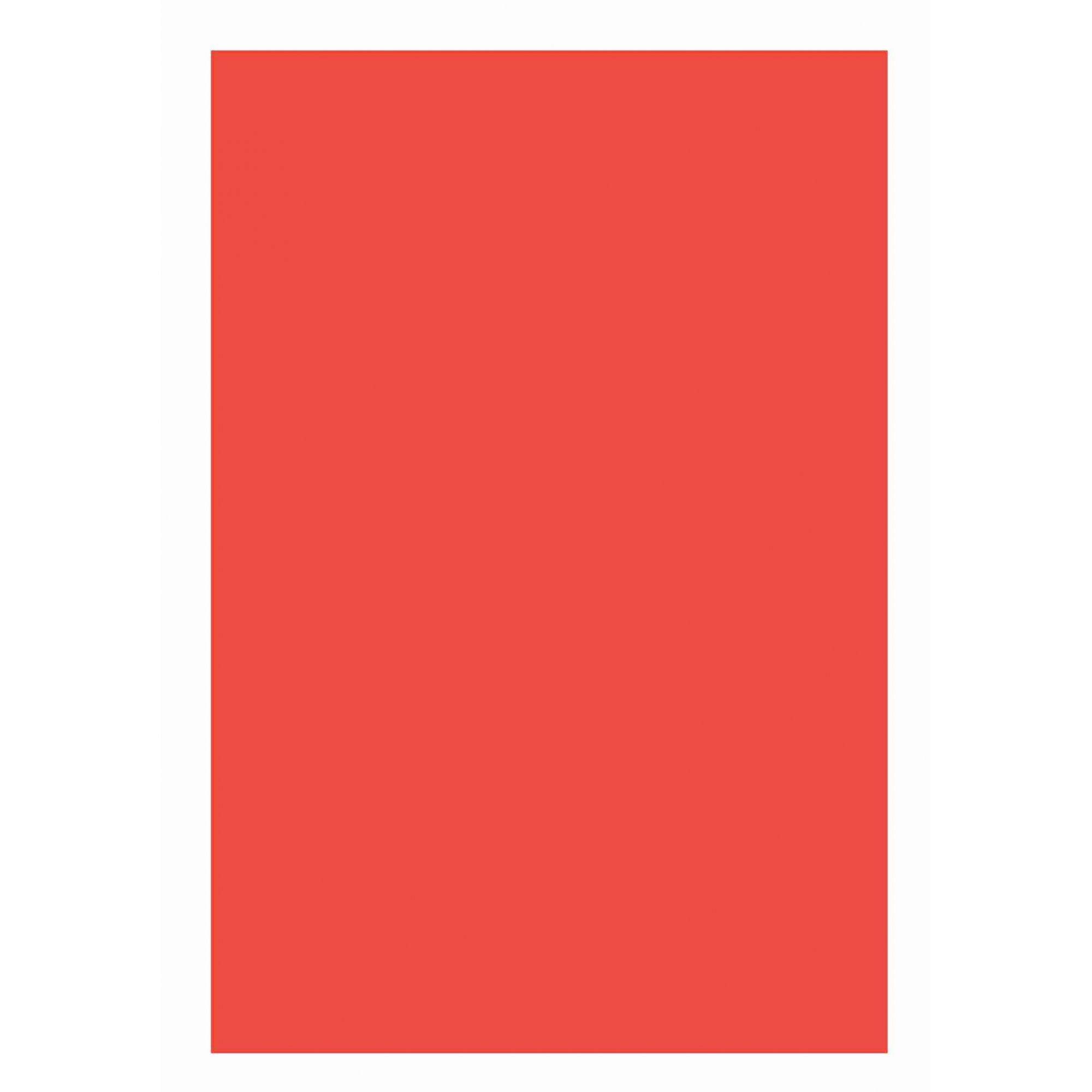 Folha Colorida Vermelho E9598 - Vidro