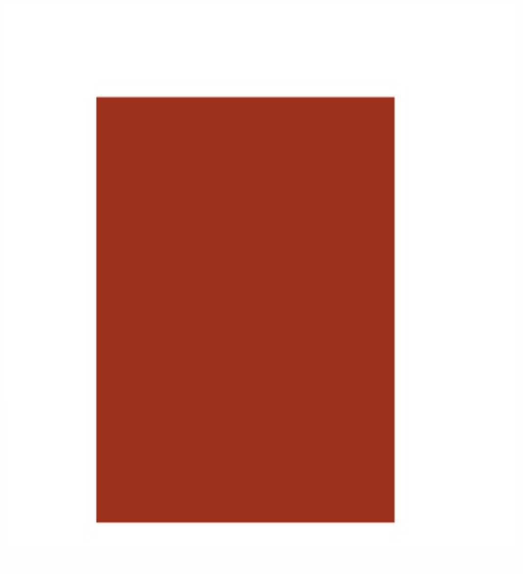 Folha Colorida - Vermelho Escuro 11709 - Vidro