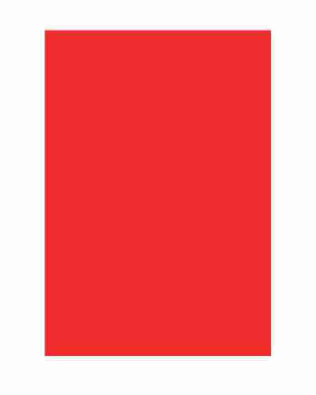 Folha Colorida - Vermelho GVF86563 - Vidro