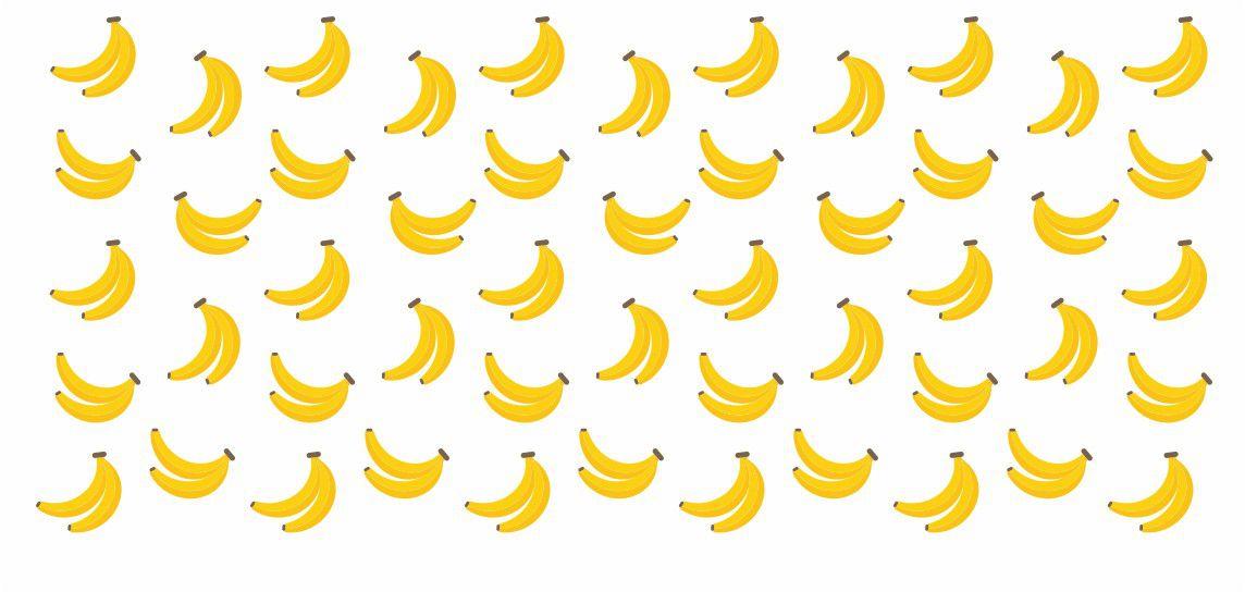 Decalque para Porcelana -Frutinhas Banana