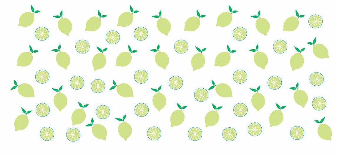 Decalque para Porcelana -Frutinhas Limão