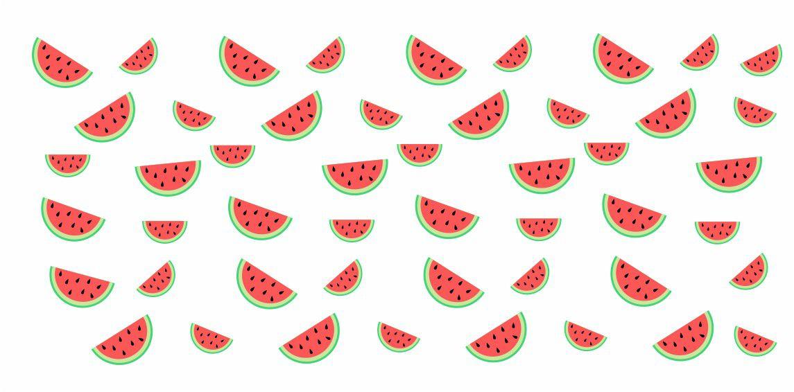 Decalque para Porcelana - Frutinhas Melancia