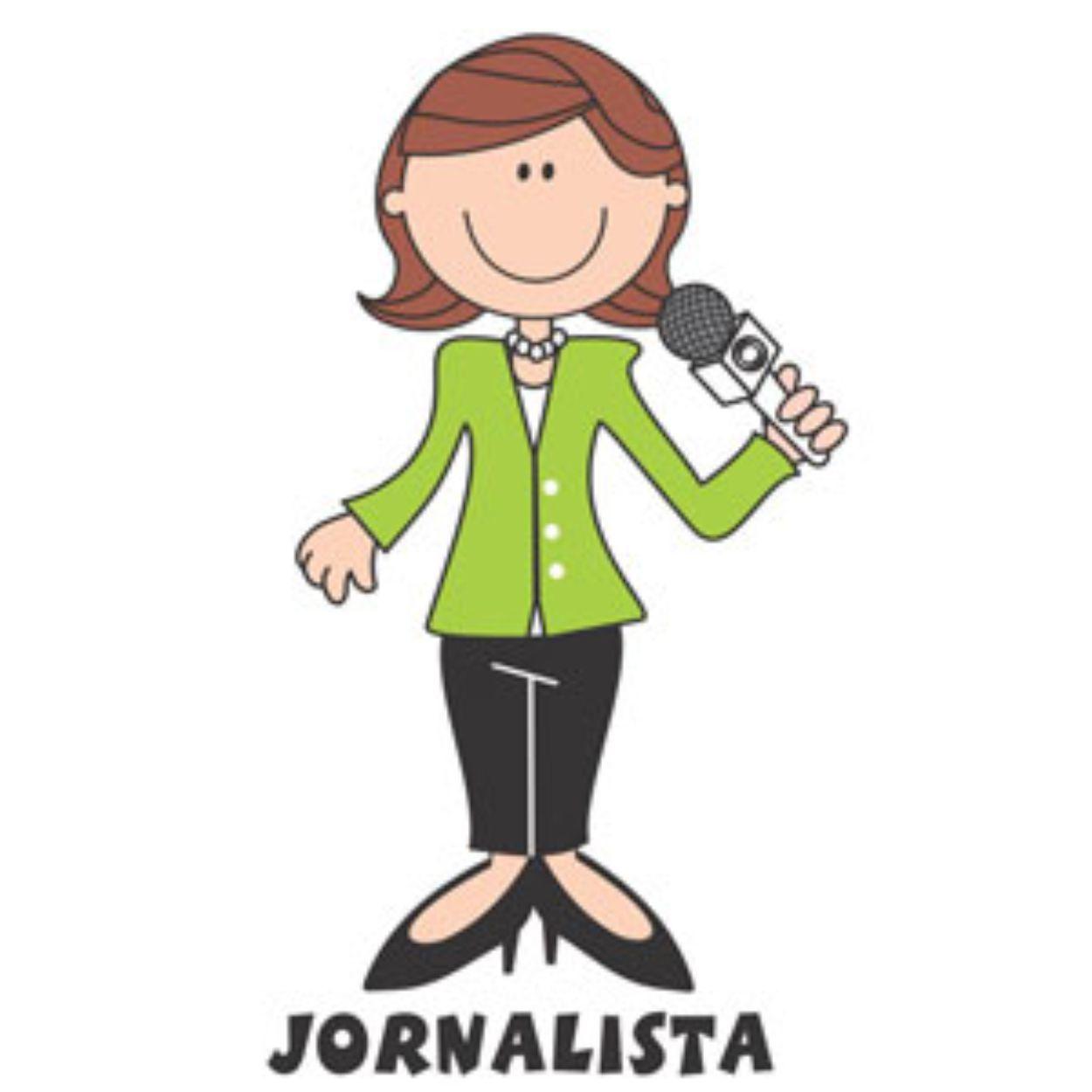 Decalque para Porcelana - Jornalista(a)