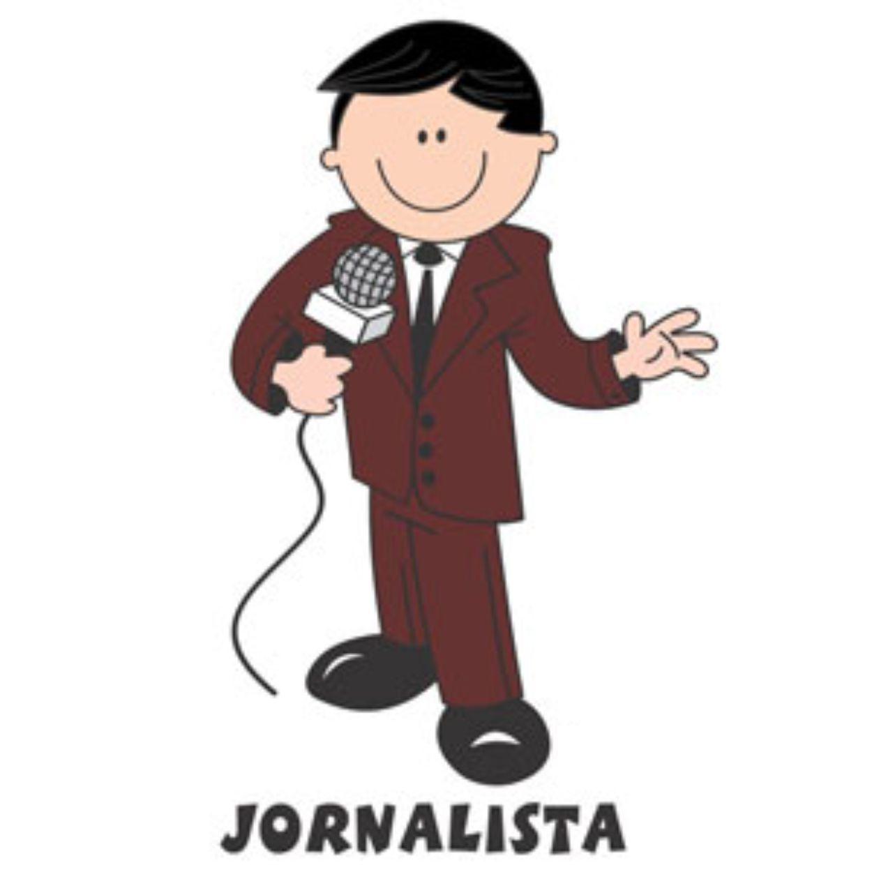 Decalque para Porcelana - Jornalista(o)