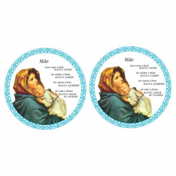 Decalque para Porcelana - Mãe Maria