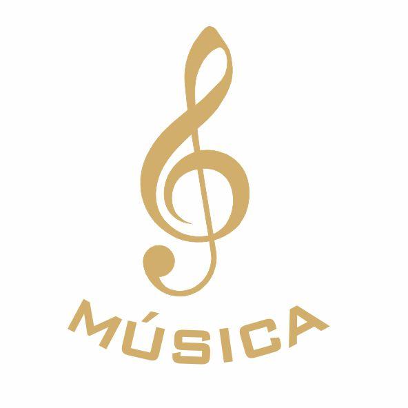 Decalque para Porcelana - Música