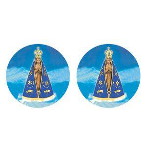 Decalque para Porcelana - Nossa Senhora Aparecida 10cm