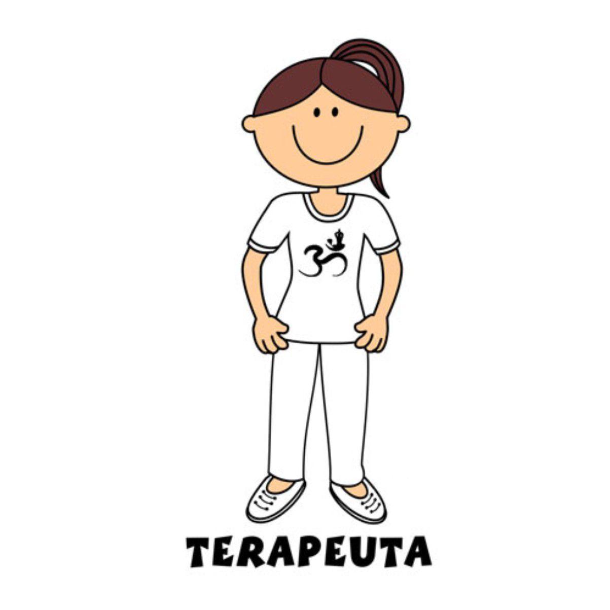 Decalque para Porcelana - Terapeuta (a)