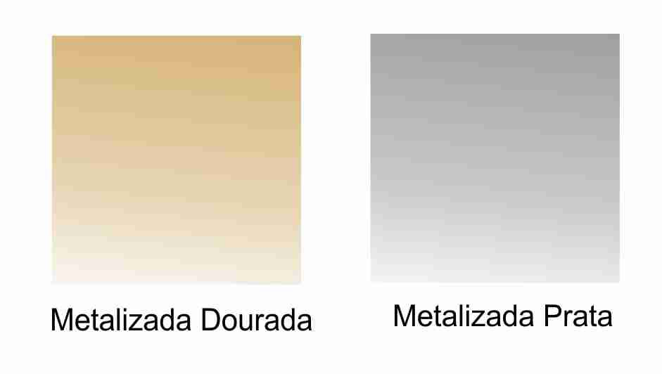 Tintas para Porcelana - Metalizadas