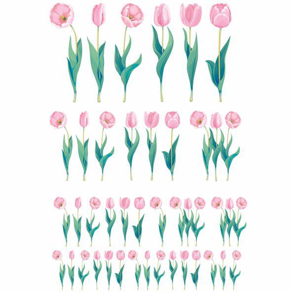 Decalque para Porcelana - Tulipa Slim