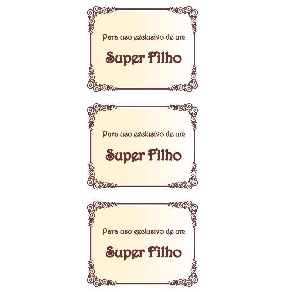 Uso Exclusivo Metalizado - Filho