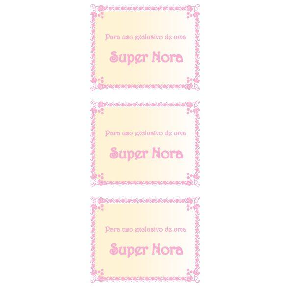 Uso Exclusivo Metalizado - Nora