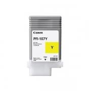 CANON CARTUCHO PLOTTER PFI-107Y AMARELO IPF670/770/780
