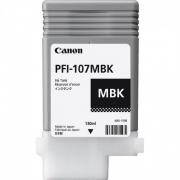 CARTUCHO DE TINTA CANON PFI-107MBK MATTE BLACK 130ML IPF 670/770/780
