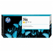 CARTUCHO HP DESIGNJET Z6/Z9 DJ746 - AMARELO P2V79A - 300ml