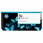 CARTUCHO HP DESIGNJET Z6/Z9 DJ746 - VERMELHO CROMÁTICO P2V81A - 300ml