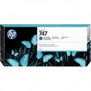 CARTUCHO HP DESIGNJET Z9 DJ747 - AZUL CROMÁTICO P2V85A - 300ml