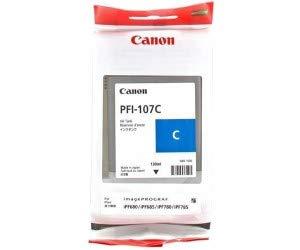CANON CARTUCHO PLOTTER PFI-107C CIANO IPF670/770/780  - Info Paraná
