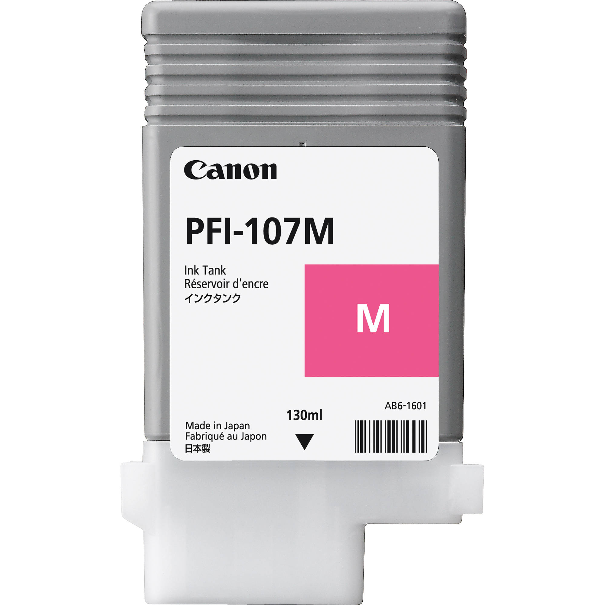 CANON CARTUCHO PLOTTER  PFI-107M MAGENTA IPF670/770/780  - Info Paraná