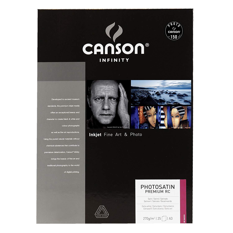 CANSON PHOTO SATIN PREMIUM RC 270 GSM A3 - 25FOLHAS  - Info Paraná