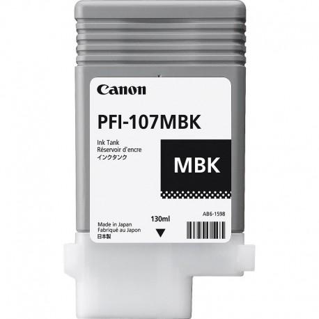 CARTUCHO DE TINTA CANON PFI-107MBK MATTE BLACK 130ML IPF 670/770/780  - Info Paraná