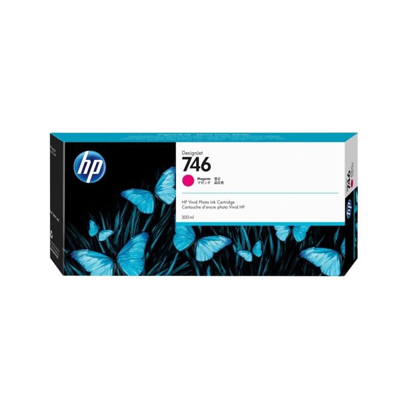 CARTUCHO HP DESIGNJET Z6/Z9 DJ746 - MAGENTA P2V78A - 300ml  - Info Paraná