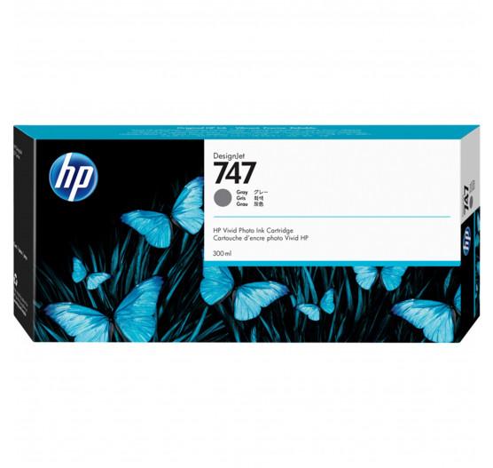 CARTUCHO HP DESIGNJET Z9 DJ747 - CINZA P2V86A - 300ml  - Info Paraná