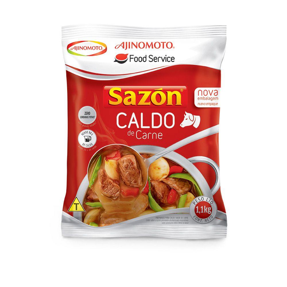 Caldo Sazón Profissional Carne Ajinomoto