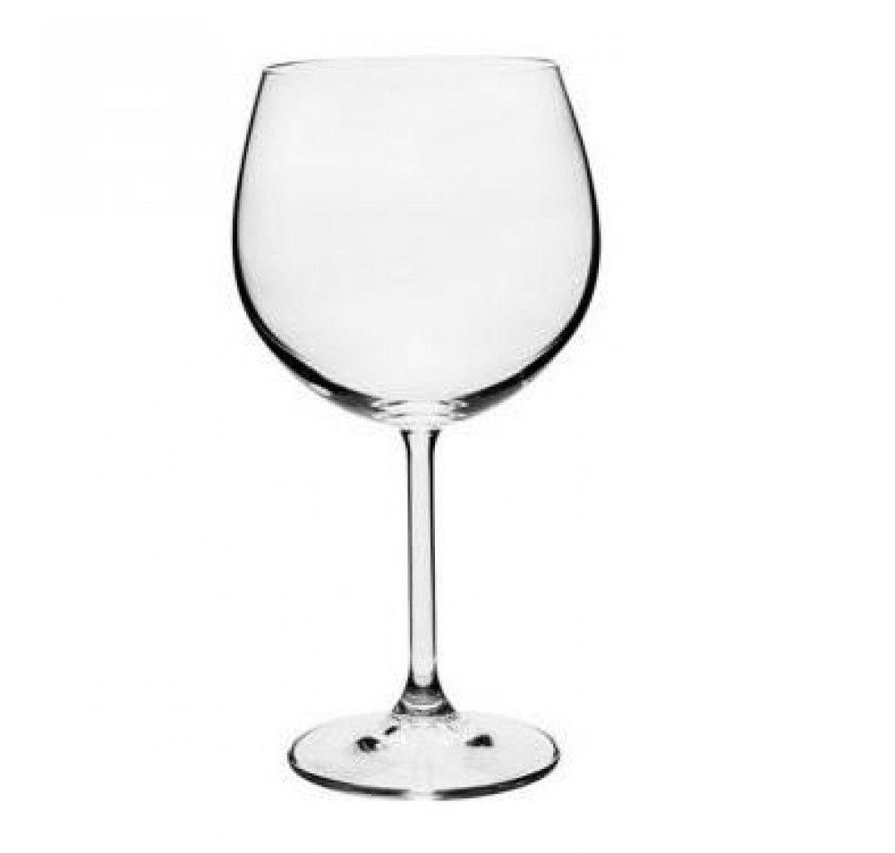 Jogo 6 Taças De Cristal 570Ml Burgundy Gastro Bohemia