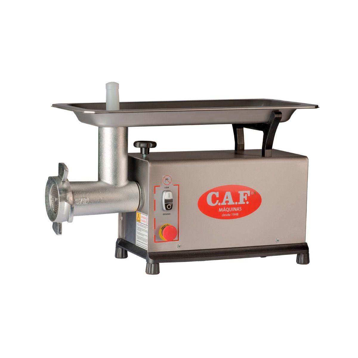 Moedor de Carnes Boca 22 Aço Inox - CAF